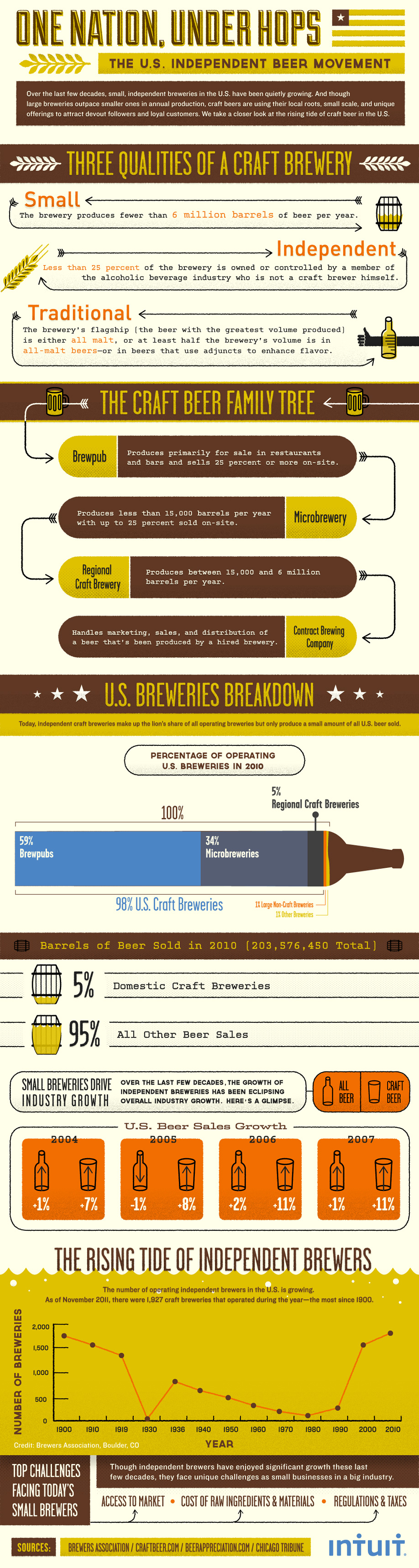 Wicked awesome infographic what s a craft brewery for Craft beer industry statistics
