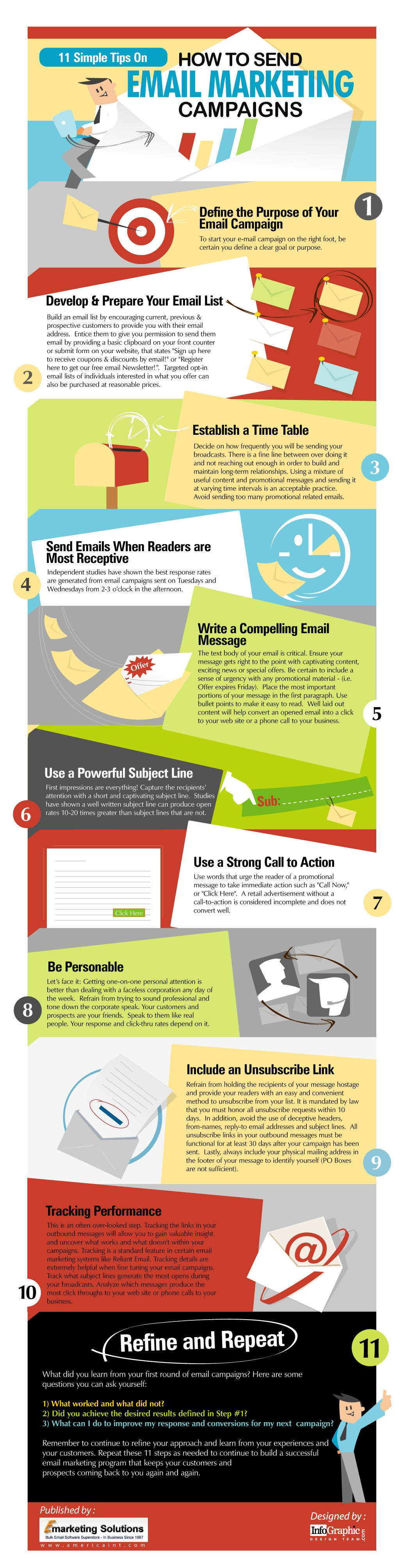 11 Simple Tips On How To Send Email Marketing Campaigns ...
