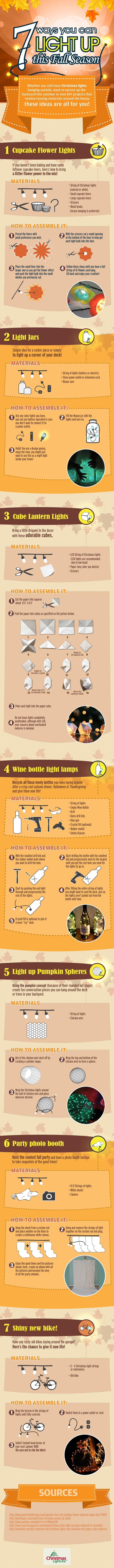 7 Ways You Can Light Up This Fall Season