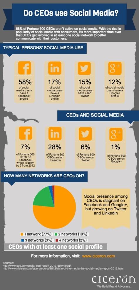 Do CEO's Use Social Media