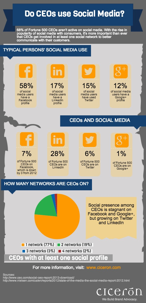 Do CEO's Use Social Media