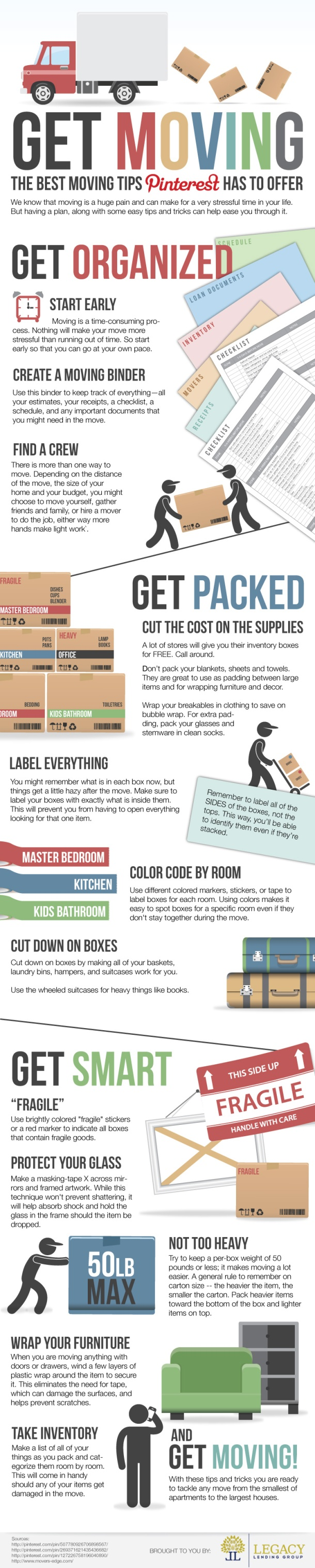 The Best Moving Tips Pinterest Can Offer