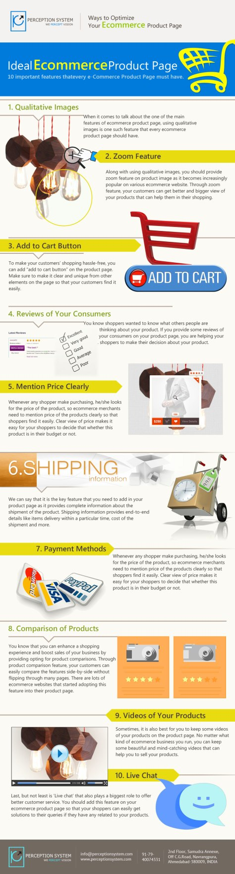 10 Ecommerce Product Page Features That Must Be Considered